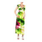 Eceelot -  Fifilles De Paris Woman Dress - Sally/Vert/Rose/1 3662390019474