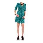 Eceelot -  Fifilles De Paris Woman Dress - Taylor/Vertpoismarine/3 3662390019726