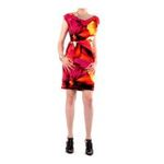 Eceelot -  Fifilles De Paris Woman Dress - Zoe/Rose/Orange/1 3662390019832
