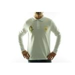 Eceelot -  Frank Ferry Man Long-sleeved Polo - Ff05/White/M 3662390055366
