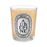 Diptyque -  Diptyque Aubepine Candle Candle 3700431400024