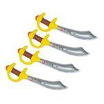 Dynsatrib -  Boite 4 sabres de pirates gonflables 3760126001745