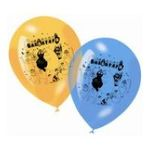 Dynsatrib -  6 ballons imprimés barbapapa 3760126003398