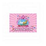 Dynsatrib -  6 cartes d'invitations mon cheval 3760126003589