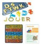 Dynsatrib -  Magic alphabet plat carré 3760126004951