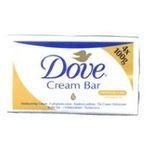 Dove -  savon film plastique  4ct toilette / regular adulte pain  4000388270503