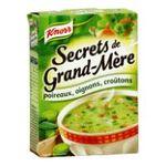 Knorr -  soupe instantanee sachet sous etui secret de grand mere trois assiettes trois assiettes par sachet  4000400156426