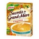 Knorr -  soupe instantanee sachet sous etui secret de grand mere trois assiettes trois assiettes par sachet  4000400156648