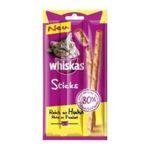 Whiskas - WHISKAS |  sticks nourriture pour chat sachet poulet stick friandise  4008429046483