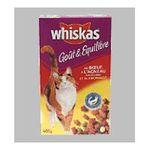 Whiskas - WHISKAS |  nourriture pour chat sachet boeuf tous chats croquettes  4008429065613