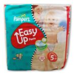 Pampers - B.22 PAMP.EASY UP JUNIOR 12-18KG |  easy up 2cf training pants sac 22ct12-18 kg junior unisexe  4015400293545