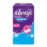 Always - PQ.30 PROTEGES SLIP PLAT ALWAYS |  alldays serviettes sanitaires boite carton 30ctsans ailette mince normal protege slip  4015400412120
