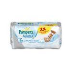 Pampers - PAMPERS |  sensitive lingette bebe eco recharge rectangulaire 112ct 2ct nettoyant et adoucissant epaisse camomille et extratit d'aloe vera  4015400414865