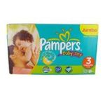 Pampers - 92x baby dry jumbo t3 pampers  4015400420040
