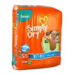 Pampers - PAMPERS |  simply dry couche jetable panty sac 38ct11-25 kg junior unisexe  4015400425717