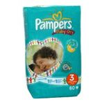 Pampers - PAMPERS BABY DRY GEANT T3 X60  4/9 KG 4015400484882