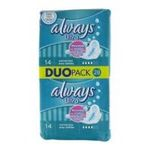 Always - ALWAYS |  ultra serviettes sanitaires sac non parfume 28ct 2ct avec ailette ultra mince normal plus serviette hygienique  4015400494065