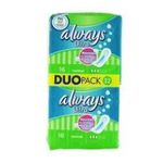 Always - ALWAYS |  ultra serviettes sanitaires sac non parfume 32ct 2ct sans ailette ultra mince normal serviette hygienique  4015400494140