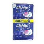 Always -  ALWAYS |  ultra serviettes sanitaires sac non parfume 20ct 2ct avec ailette ultra mince nuit serviette hygienique  4015400494300