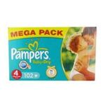 Pampers -  102x pampers baby dry mega t4 4015400495161
