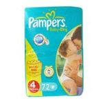 Pampers -  72x pampers baby dry value t4 4015400498988