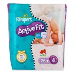 Pampers - PAMPERS ACTIVE FIT T4 7/ X26 MAXI | PAMPERS ACTIVE FIT T4 7/18KG X26 MAXI 4015400502951