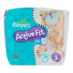 Pampers - PAMPERS ACTIVE FIT T3 4/ X31 MIDI | PAMPERS ACTIVE FIT T3 4/9KG X31 MIDI 4015400503491