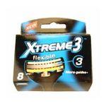 Wilkinson -   sword xtreme iii lame de rasoir blister 8ctflexible homme 3 lames  4027800012206