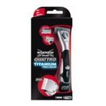 Wilkinson -   sword quattro titanium precision rasoir blister1ct flexible homme 4 lames  4027800037803
