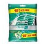 Wilkinson -   sword extra ii pure sensitive rasoir jetable sachet plastique 15cttete fixe homme 2 lames  4027800077458