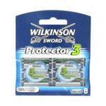 Wilkinson -   sword protector lame de rasoir blister 8ctpivotant homme 3 lames  4027800513604