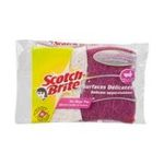 3M -  scotch-brite eponge grattante rose salle de bain x2  4046719078042