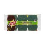 3M -  SCOTCH |  brite fibres recyclees combine sachet plastique 3ctmoyen fibre recyclee tout usage ergonomique  4046719285938