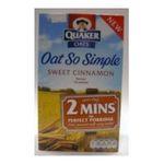 Quaker Oats - Quaker Oat So Simple Cinnamon  5000108162858