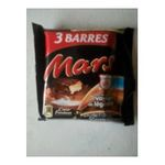 Mars -  mars x 3   | TRIO MARS PACK 3X42G 5000159390828
