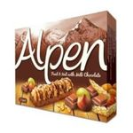 Weetabix -  Alpen   Alpen Fruit And Nut With Chocolate Cereal Bar 5X x 4 5010029211030