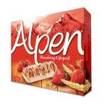 Weetabix -  Alpen   Alpen Strawberry and Yoghurt Cereal Bar 6 Pack  5010029211061