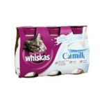 Whiskas -  nourriture pour chat bouteille plastique lait  3ct liquide lait  5010394985161