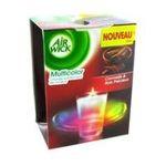Air Wick -  wick spirale bougie boite carton cannelle et bois precieux1ct non rechargeable dans un verre multi usage bougie  5011417555217