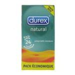 Durex -  durex preservatif naturel boite 24  5038483364413
