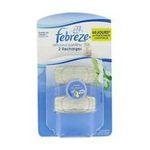Febreze -  diffuseur passif blister rosee du matin 2ct2 recharges rectangle neutralisateur d'odeur liquide recharge pour diffuseur passif  5410076195602