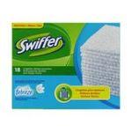 Swiffer -  dusters febreze lingette pour balai boite carton lavande 18ctnon abrasif multi surface lingette seche depoussiere  5410076365944