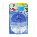 Mr. Propre -  pur flush produit wc blister eau fraiche et menthe1ct bleu cuvette accroche bloc liquide parfumant  5410076414123