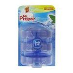 Mr. Propre -  pur flush produit wc blister eau fraiche et menthe 3ctbleu cuvette accroche recharge liquide parfumant  5410076414499