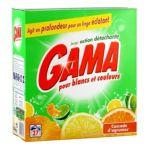Gama -   lessive poudre  cascade d'agrume 5410076515875