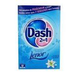Dash -   2 en 1 lenor lessive poudre  fleur de lys et perles de rosee adoucissant 5410076766857
