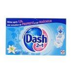 Dash -   2 en 1 lenor lessive tablette-dose  fleur de lys et perles de rosee adoucissant super concentre 5410076770724