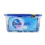 Dash -   2 en 1 lenor lessive capsule liquide  fleur de lys et perles de rosee adoucissant concentre 5410076772124