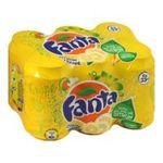 Fanta - fanta citron frappe boite 6x  5449000003775