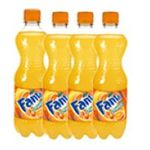 Fanta - LOT 4X FANTA ORANGE | LOT 4X50CL FANTA ORANGE 5449000027672